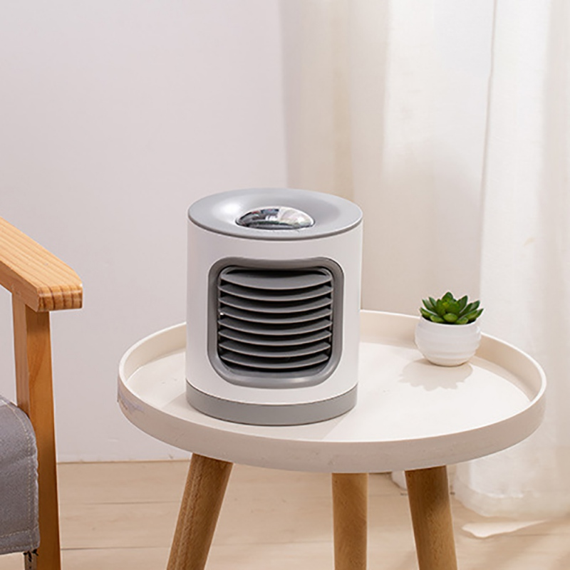 Household Projection Lamp Rotating Air Purifier Fan Usb Charging Negative Ion Air Conditioning Fan Multi-Function Table Lamp Fan