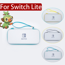 Nintend Switch Lite Accessories Travel Carrying Bag Mini NS Case Thumbsticks Grips Cap for NS Crystal
