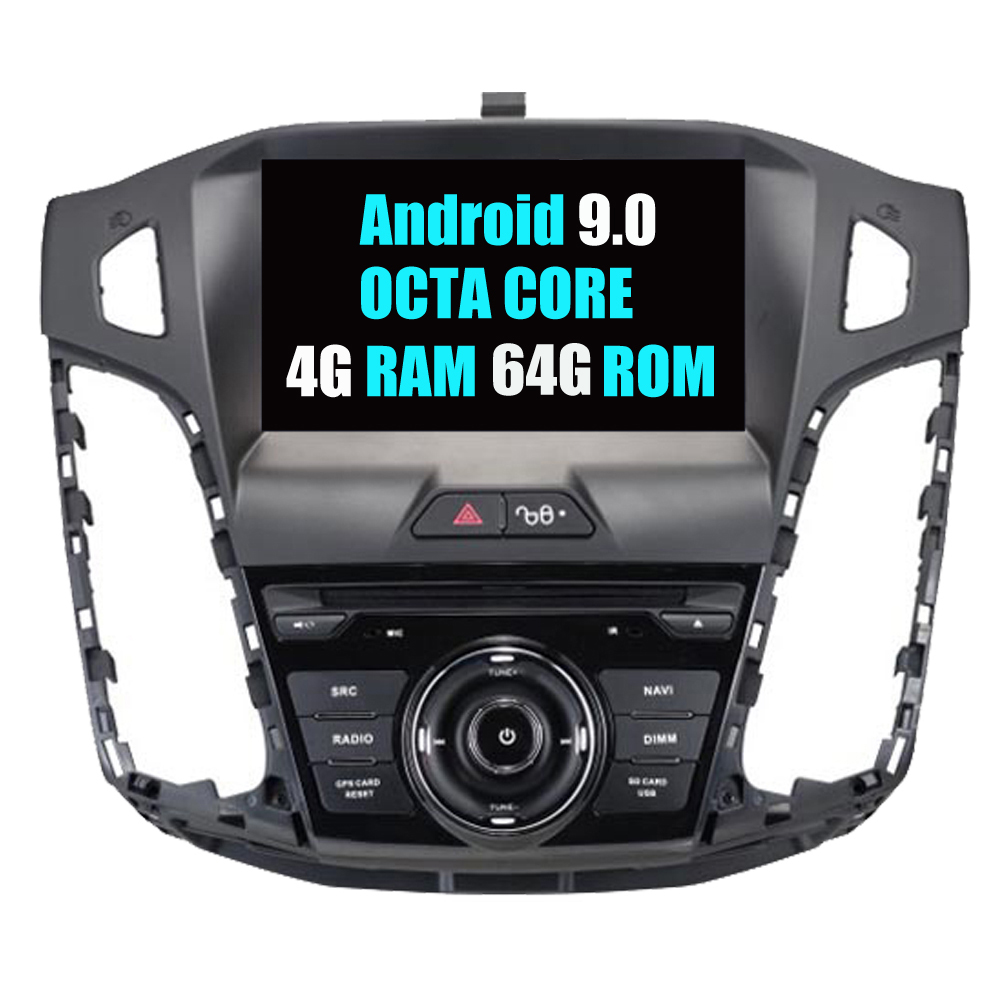 RoverOne Car Multimedia System For Ford For Focus 3 2012 - 2014 Android 9.0 Radio Stereo DVD GPS Navigation Media Music Player