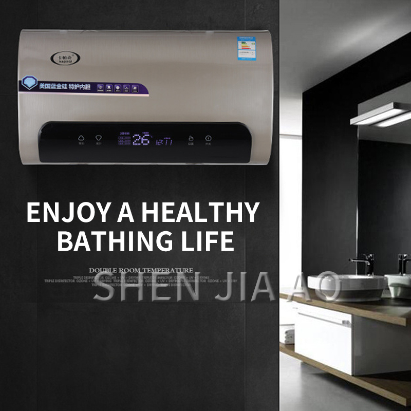 Electric Water Heater, Quick-heating Electric Water Heater, Intelligent Control Digital Display Temperature, Multiple Protection