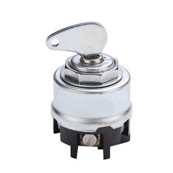 Carprie car switch Universal 24V 100A 6 Position Vehicle Ignition Starter Switch with Key car Ignition Starter Switch