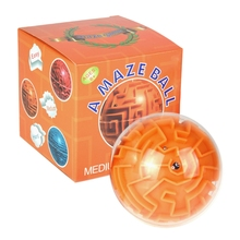 Amaze 3D Gravity Memory Sequential Maze Ball Puzzle Toy Gifts for Kids Adults XXFE