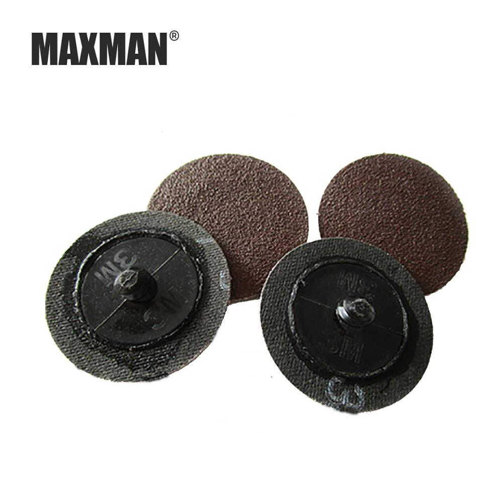 MAXMAN 20 Pcs 40/50MM 3m Transfer Sanding Discs Car And Other Products For Surface Finishing, Deburring, Rounding And Polishing