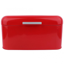 Acrylic Box Solid Color Retro Metal Bread Bin Box