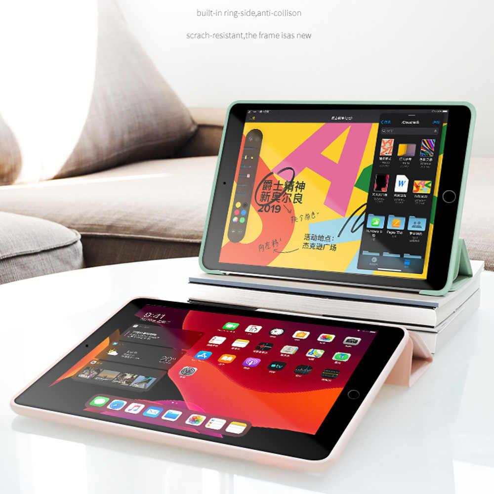 Умный силиконовый чехол для iPad Air 2 Air 1, 9,7 дюйма, 10,2 дюйма, 2017, Pu искусственная кожа