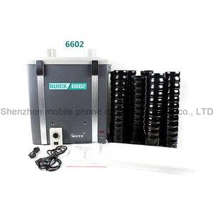 Image 3 - QUICK 6601/6602 purificador de humo, instrumento para fumar, protección del medio ambiente, sistema de depuración de humos de Posición única/Dual