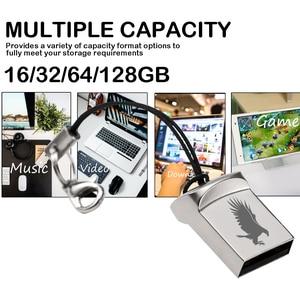 Jaster Mini Metalen Usb Flash Drive 4G 8G 16 Gb 32 Gb 64 Gb Personaliseren Pen drive Usb Memory Stick U Schijf Gift Custom Logo