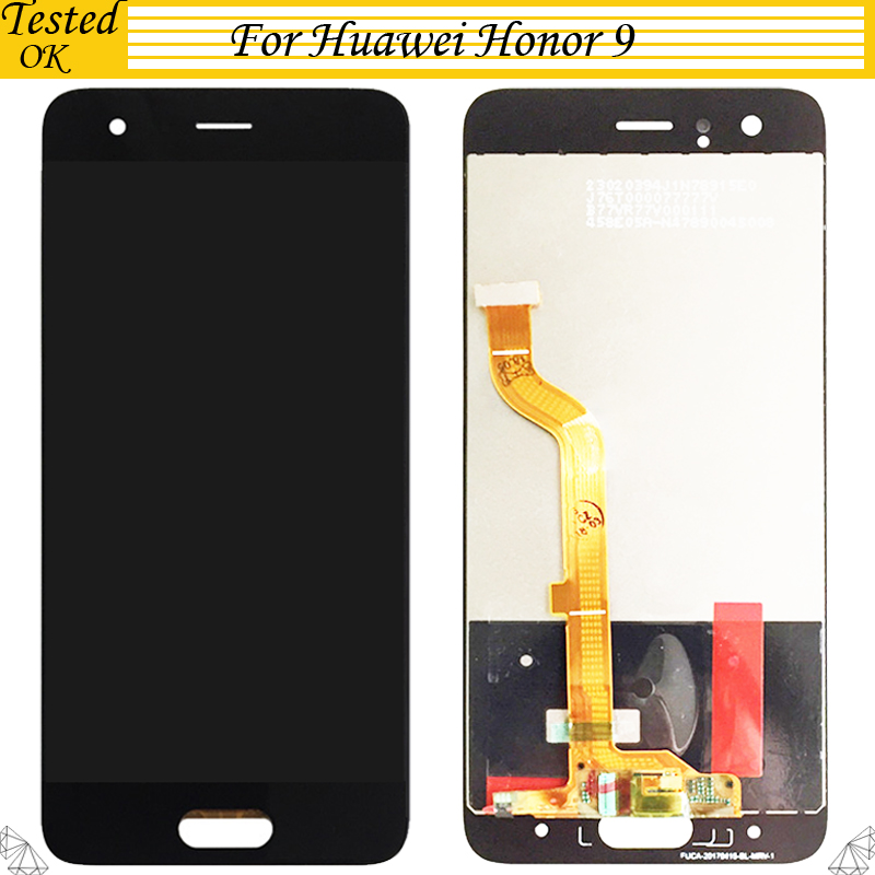 Für <font><b>Huawei</b></font> <font><b>Honor</b></font> <font><b>9</b></font> <font><b>LCD</b></font> <font><b>Display</b></font> Mit Touch Screen Digitizer Montage Für <font><b>Huawei</b></font> Honor9 <font><b>LCD</b></font> <font><b>Display</b></font> STF-L09 STF-AL10 STF-AL00 image