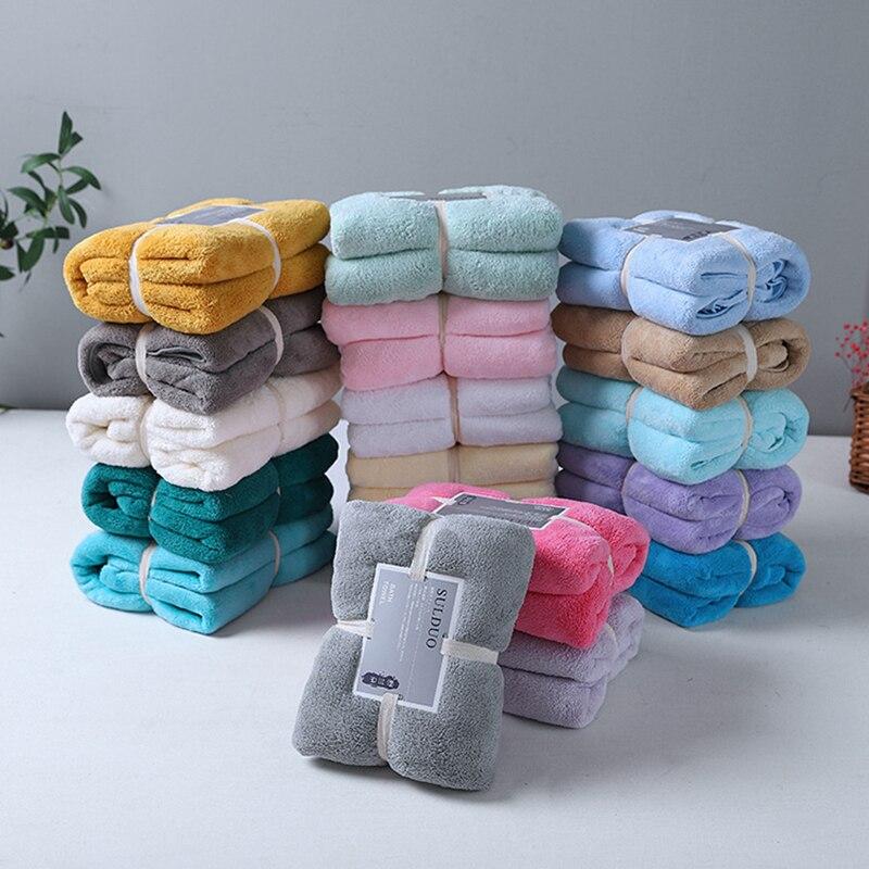 150*75cm Home Textile Towel Adult Absorbent Bath Towel Women Robes Bath Wearable Towel Microfiber Fabric Towel