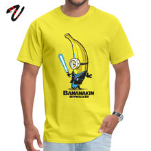 Bananakin Skywalker Banana Minions T-shirts Swordsman Despicable Pokemon Funny Mens Tshirt Fashionable Short Sleeve