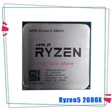 AMD Ryzen 5 2600X R5 2600X 3.6 GHz ستة النواة اثني عشر موضوع معالج وحدة المعالجة المركزية YD260XBCM6IAF المقبس AM4