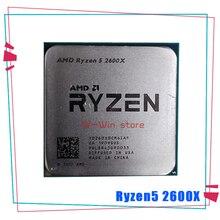 Amd ryzen 5 2600x r5 2600x 3.6 ghz seis núcleo processador cpu de doze linhas yd260xbcm6iaf soquete am4