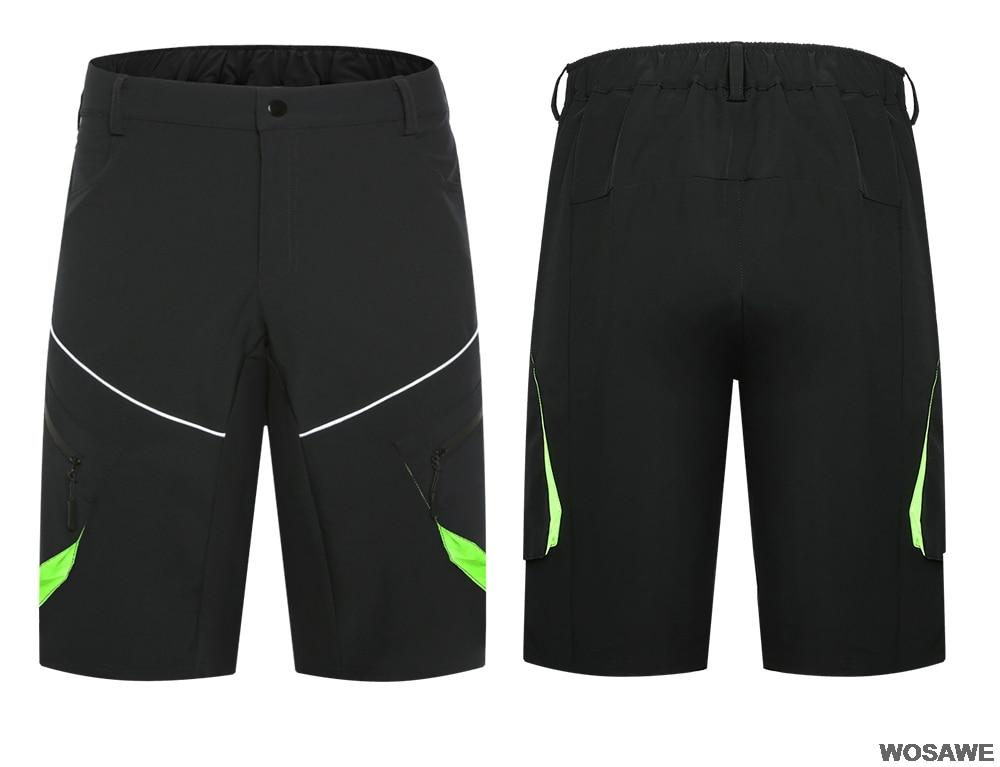 mountain bike downhill shorts solto ajuste equitação