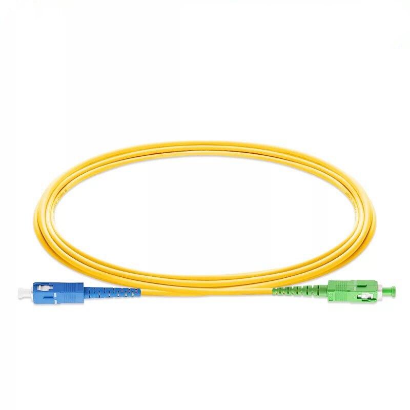 10PCS/lot SC/ UPC-SC/ APC Simplex mode LSZH Fiber Optic Patch Cord For CATV Network 2