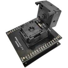QFN32 MLF32 programm IC Test Socket IC549-0324-006-G Pitch 0.4mm Clamshell Chip Size 4*4 Flash Adapter Programming Socket