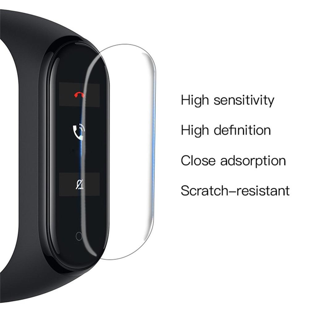 Protective-Film Miband Manipulation Hd-Film Sensitive Xiaomi for Smooth-Surface Automatic