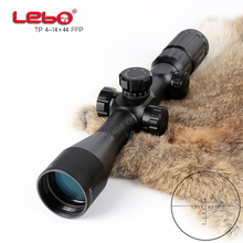 Hunting Riflescope Optical Sight TP 4-14X44 FFP Tactical Riflescope with Mil Dot Reticle with Illumination Rifle scope 4 12x50eg tactical rifle scope with holographic 4 reticle sight
