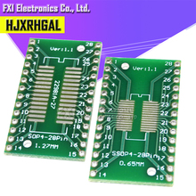 10PCS TSSOP28 SSOP28 SOP28 to DIP28 Transfer Board DIP Pin Board Pitch Adapter  igmopnrq