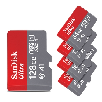 100% genuine sandisk micro sd card Class 10 memory card ultra A1 TF Card microsd 16gb 32gb 32 gb 128gb 256gb 64gb