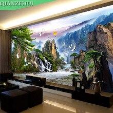 Qianzehui, Handwerken, Diy De Pine Groet Gasten Kruissteek, Maken Geld Landschap Landschap Serie, muur Thuis Decro