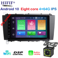 IPS Octa Core 4GB RAM Android 10 Car Radio Player Radio For Mercedes Benz C CLK CLS CLC Class W203 W209 W219 Car GPS Navigation