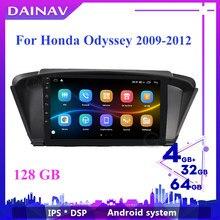 Autoradio Android, DVD, Navigation GPS, lecteur multimédia, stéréo, récepteur, 2 Din, pour Honda Odyssey (2009, 2010, 2011, 2012, 2013, 2014)