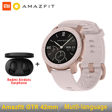 Global Version Amazfit GTR Smart Watch 42mm 5ATM 24 Days Battery GPS & GLONASS S