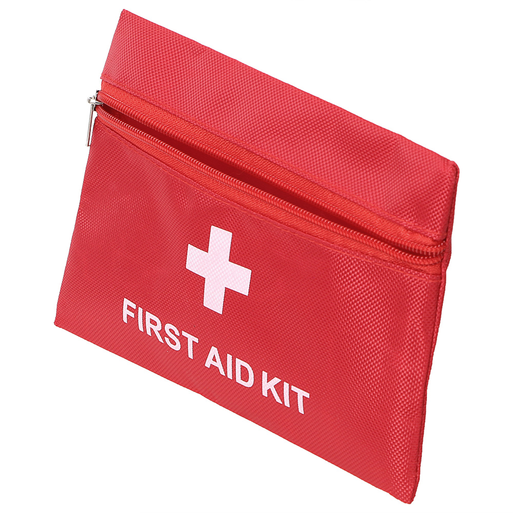 NICEYARD 20*14cm First Aid Kit Bag Multifunction Tools Packaging Tool Bag Emergency Medical Kit Storage Empty Oxford Cloth Bag