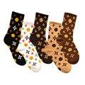 5 пар 2020; Лидер продаж; Повседневная обувь для мужчин и женщин носки новинка; Носки для малышей; Модные дизайн плед, цветные хлопковые носки
