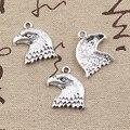 12pcs Charme Hawk Adler 21x19mm Antike Silber Farbe Anhänger DIY Halskette Handwerk, Die Entdeckungen Handmade Tibetischen schmuck
