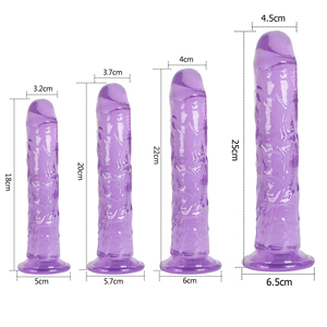Strong Suction Cup Dildo Toy for Adult Erotic Soft Jelly Dildo Anal Butt Plug Realistic Penis G-spot Orgasm Sex Toys for Woman
