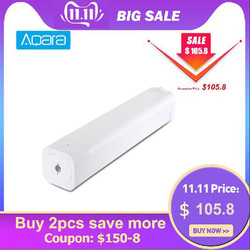 Original AQara B1 inalámbrico inteligente motorizado cortina eléctrica Motor 12 cm/seg WiFi/voz/aplicación de Control inteligente de una llave a casa Kits 3030mAh