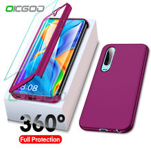 OICGOO Luxury 360 Phone Case For Huawei P20 P30 Mate 20 lite Full Cover Cases For Huawei P smart Z P30 P20 Mate 20 Pro Case Capa(China)