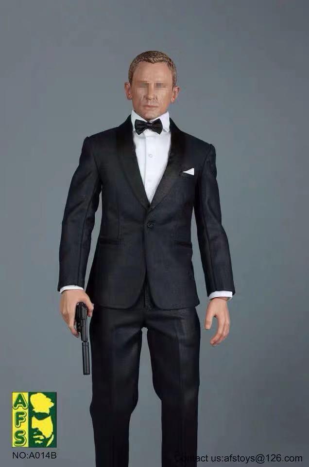 Best Promo 3023 1 6 Scale James Bond 007 Man S Suit