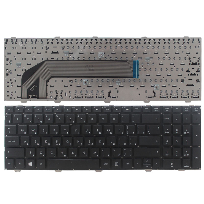 Russian NEW Keyboard FOR HP ProBook 4540s 4540 4545 4545S 4740 4740S RU Laptop Keyboard Without Frame