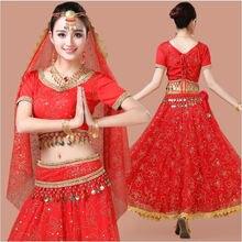 2020 женские Индийские танцы с изображением биливуда