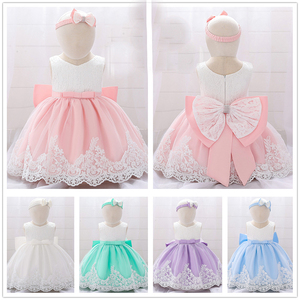 Boże narodzenie sukienka dla dzieci cekiny koronki kwiat chrzciny suknia chrzest ubrania noworodka dziewczyny urodziny księżniczka kostium dla niemowląt
