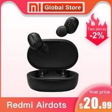 Original Xiaomi Redmi Airdots Pro Kopfhörer Xiaomi Drahtlose kopfhörer Voice control Bluetooth 5,0 Noise reduktion Tap Control
