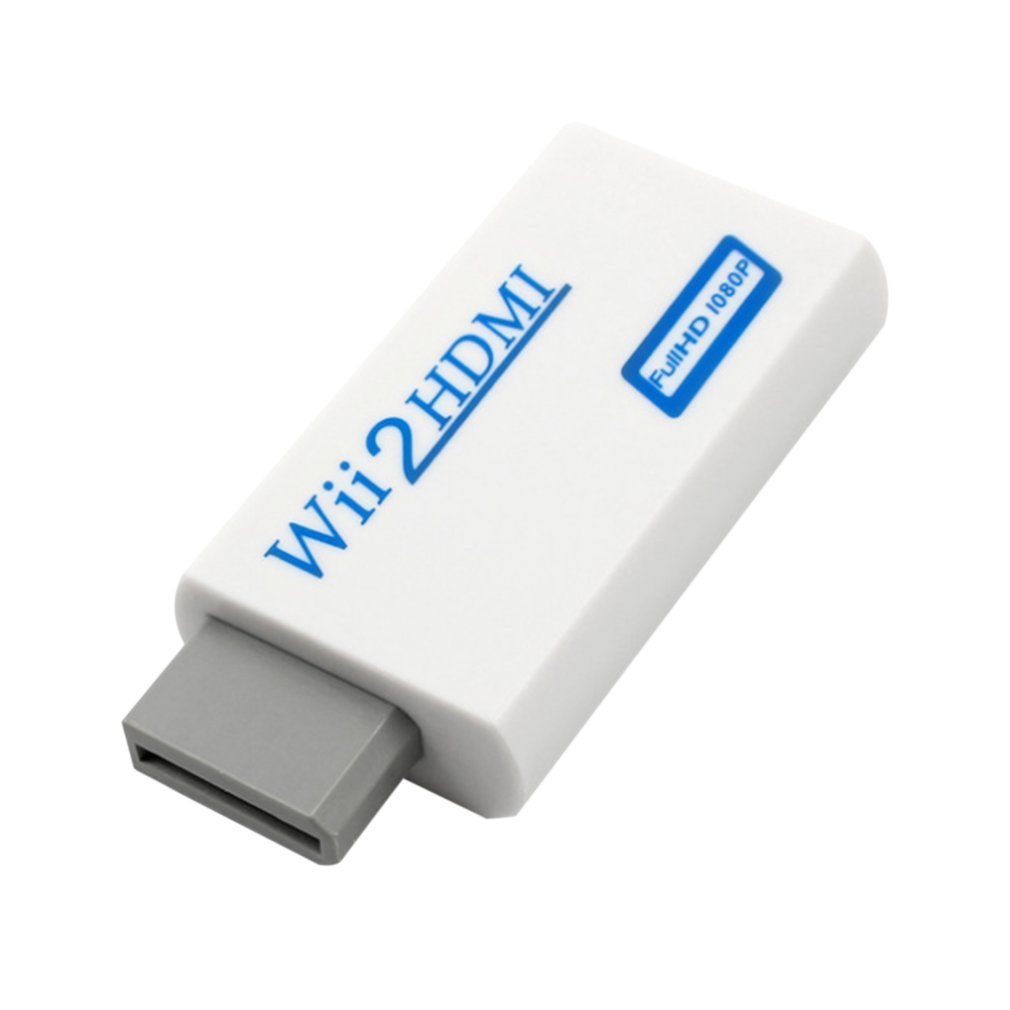 For Nintendo Wii Hassle Free Plug And Play For Mando Wii To HDMI 1080p Converter Adapter Wii2hdmi 3.5mm Audio Box For Wii-link