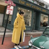 2019 Winter Faux Mink Fur Coat Female Fake Leather Jacket Women Long Pink Parka Manteau Fourrure Outerwear Coats Fashion Furs