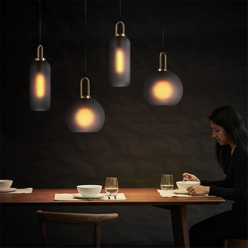 modern industrial lamp hanging lamp rope LED  pendant lights  living room   restaurant  pendant lights deco maison deco chambre