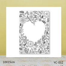 AZSG Romantic love Clear Stamps For DIY Scrapbooking/Card Making/Album Decorative Rubber Stamp Crafts