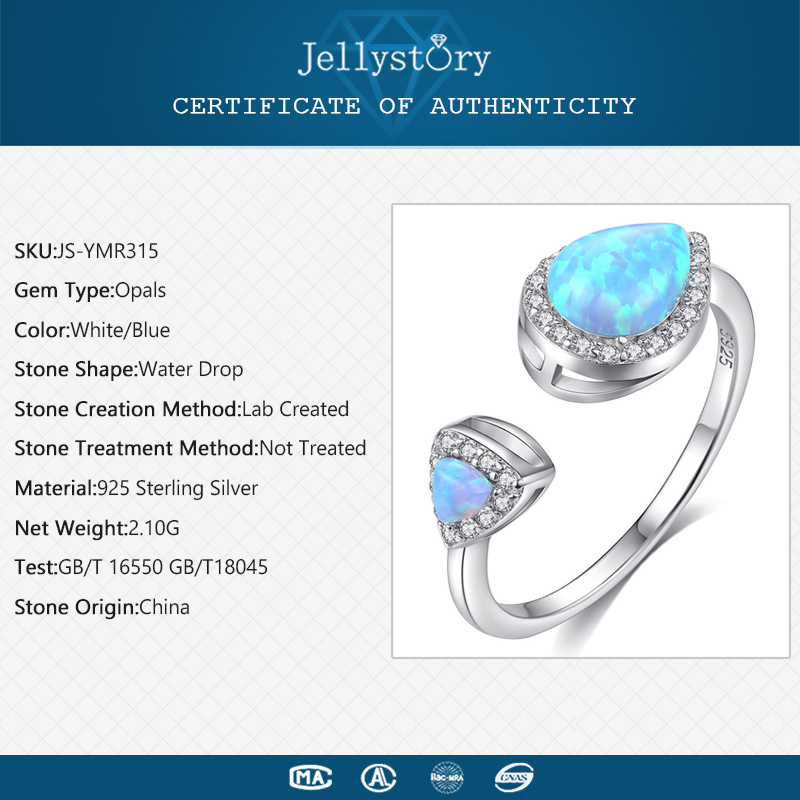 925 silver Gemstone Ring for women 2
