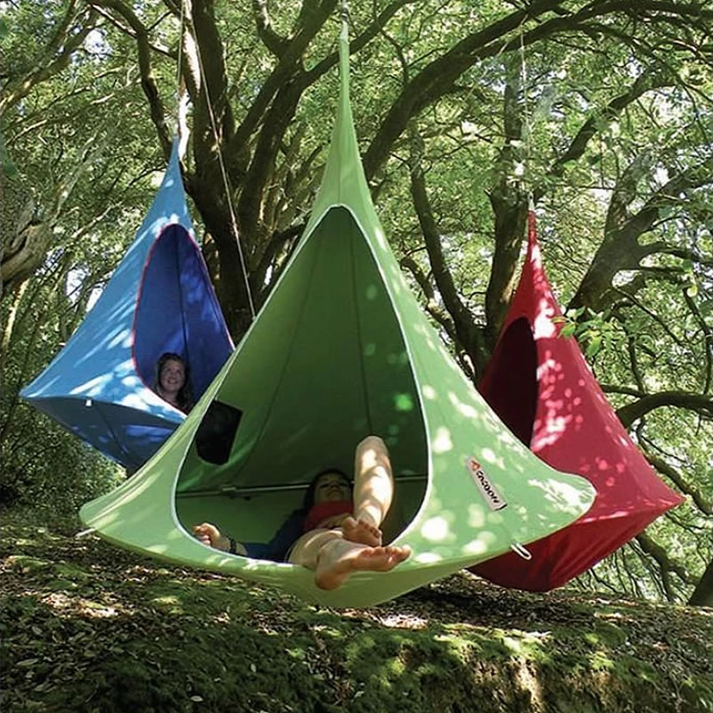 Patio Furniture Tent Hanging-Chair Cocoon Swing Teepee-Tree Hamaca Outdoor Hammock Silkworm