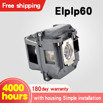 цена на Free shipping ELPLP60 Brand New Projector Lamp For 425Wi 430i 435Wi EB-900 EB-905 420 425W 905 9293+ 93 95 96W H383 H383A