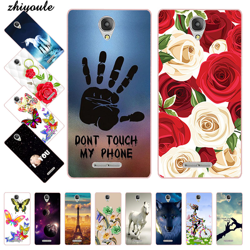 Cute Animal Printing Case for <font><b>Alcatel</b></font> One Touch Pop 4 Plus 5.5 5056 <font><b>5056D</b></font> Cell Phone Cover TPU Cartoon Design Funda Soft Phone image