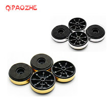 4pcs Audio Speaker Spike Foot Pad Stereo Woofer Amplifier Shockproof Base Pad 40x13mm(China)