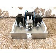 6J1 FU32 luksusowa gorączka rura elektroniczna i zestaw wzmacniacza mocy żółci/wykończona wersja srebrna