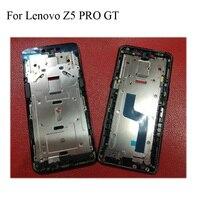 Para Lenovo Z5 pro GT Titular do Quadro Da Frente Da Tela LCD Original Para Lenovo Z5pro GT L78032 Caso Da Habitação Quadro Do Meio