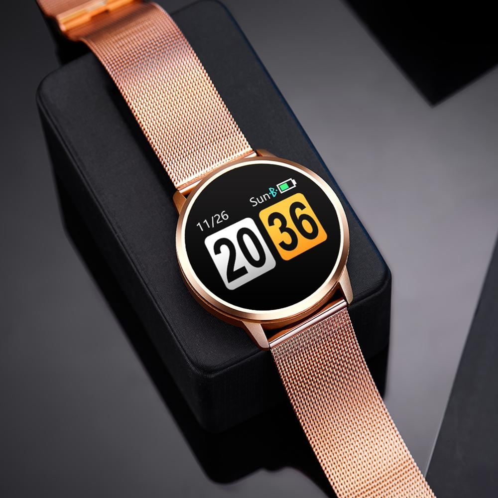 SYNOKE Smart Watch Men Women Heart Rate Sleep Monitor Wristwatch Step Counter Watches For Women